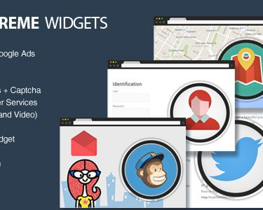 supreme widgets social marketing wordpress plugin