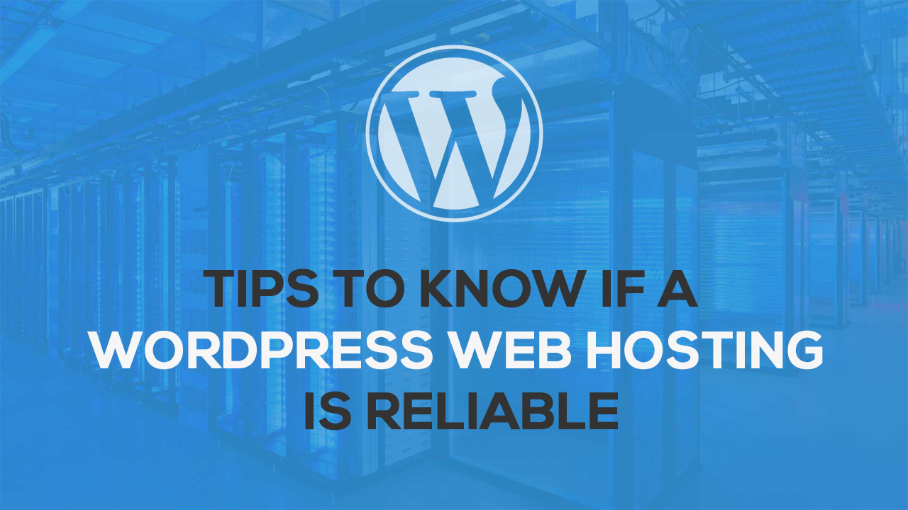 Tips to Know If a WordPress Web Hosting is Reliable