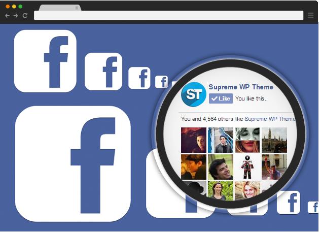 Facebook - Supreme Widgets WordPress Plugin